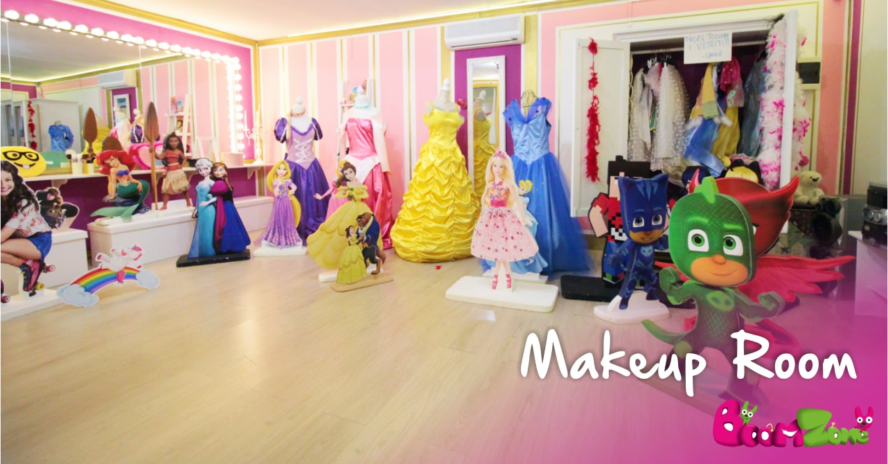 Makeup Room, Boom Zone parco giochi a Palermo