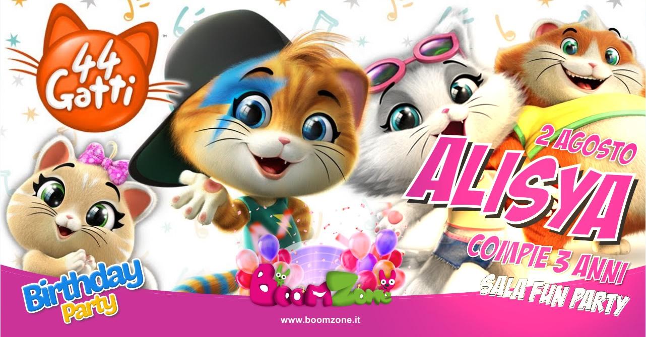 organizzazione festedi compleanno a tema 44 gattia Palermo