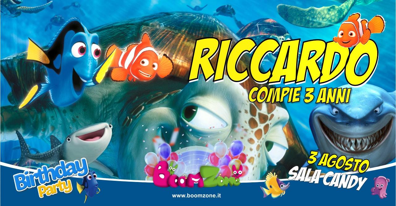 organizzazione feste di compleanno a tema Nemo Palermo
